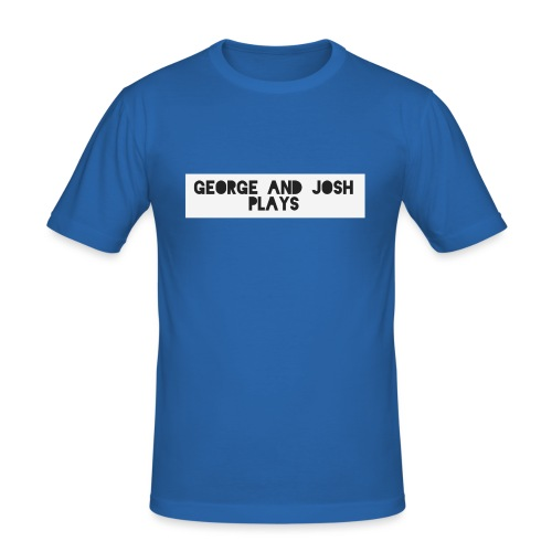 George-and-Josh-Plays-Merch - Men's Slim Fit T-Shirt