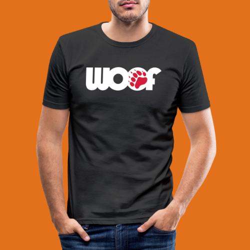 woof2011 w r - Men's Slim Fit T-Shirt