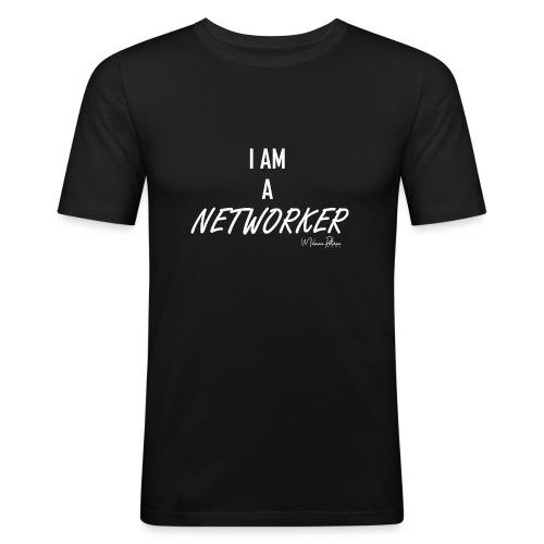I AM A NETWORKER - T-shirt près du corps Homme