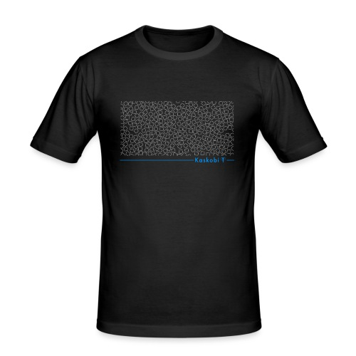 Phantom Collage // Kaskobi - Men's Slim Fit T-Shirt