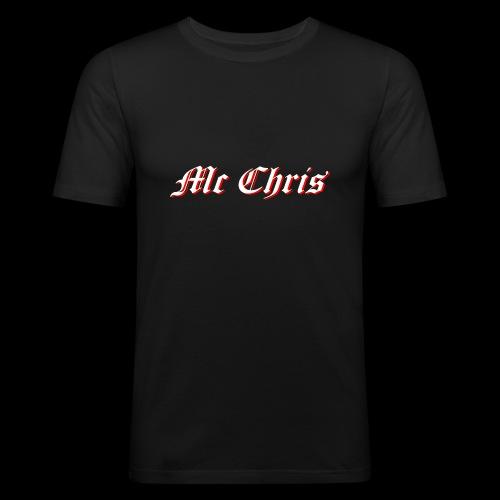 McChrislOGO11 - Männer Slim Fit T-Shirt