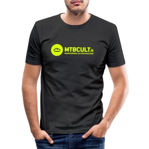 MTB Cult Logo - Maglietta aderente da uomo