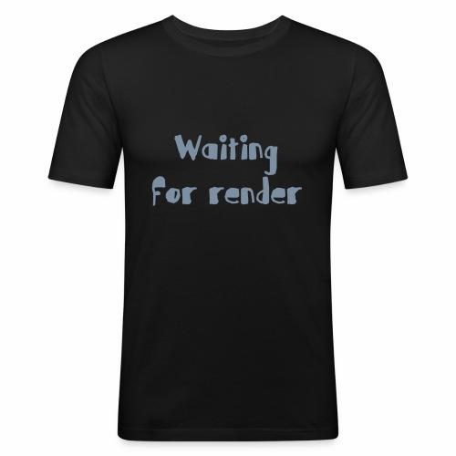 RENDER - Camiseta ajustada hombre