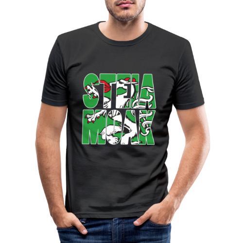 STEIAMOAK Geschenk für Steirer und Steirerin - Männer Slim Fit T-Shirt
