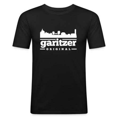 tshirt skyline garitz png - Männer Slim Fit T-Shirt