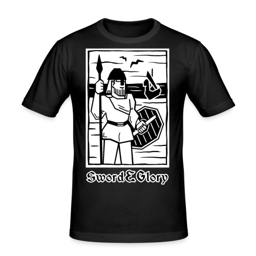 Viikinki - Miesten tyköistuva t-paita