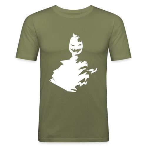 t-shirt monster (white/weiß) - Männer Slim Fit T-Shirt