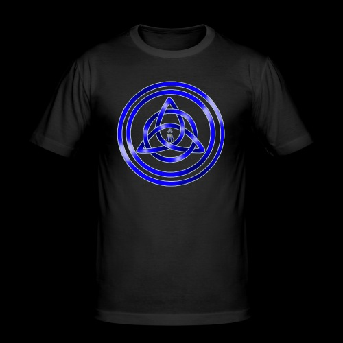 Awen Triqueta - Men's Slim Fit T-Shirt