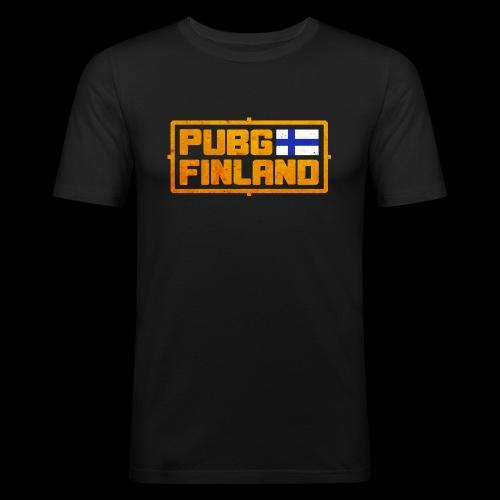 PUBG Finland - Miesten tyköistuva t-paita