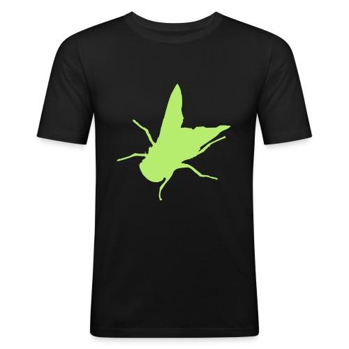 fliege - Männer Slim Fit T-Shirt