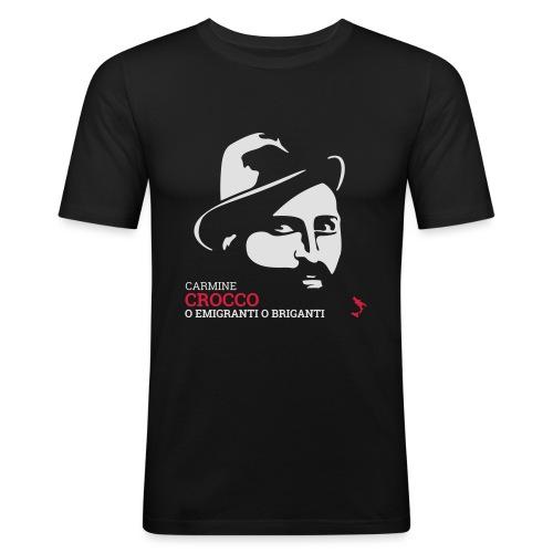 Brigante Carmine Crocco - Maglietta aderente da uomo