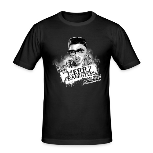 THE_MERRY_PRANKSTERS_STANDARD_scuro - Men's Slim Fit T-Shirt