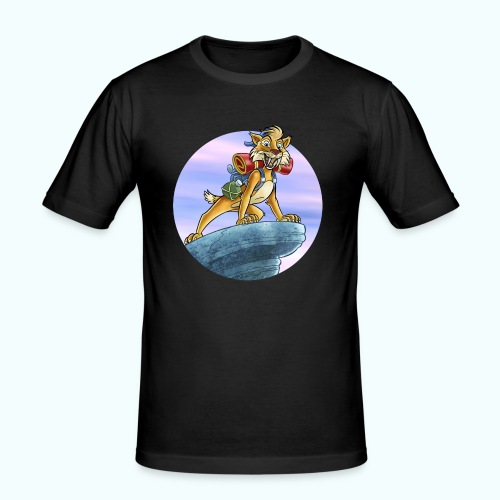 Smilodon - Men's Slim Fit T-Shirt