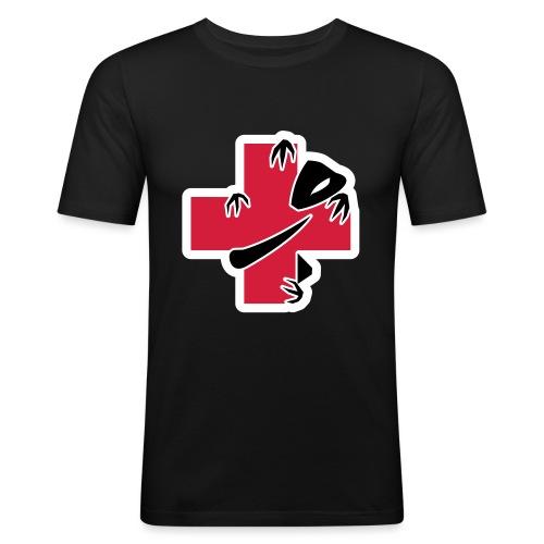 sic-santyx-infirmyx-citud - T-shirt près du corps Homme