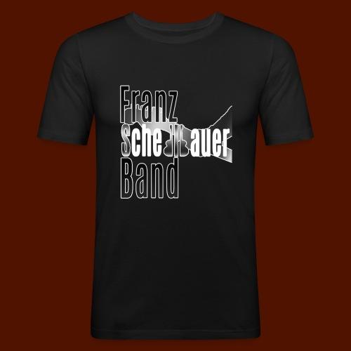 FSB Logo gray - Men's Slim Fit T-Shirt