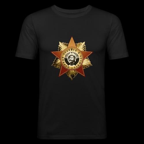 Cosmonaut Medal - Men's Slim Fit T-Shirt
