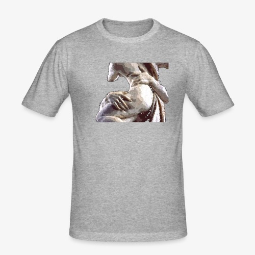 #OrgulloBarroco Rapto difuminado - Camiseta ajustada hombre