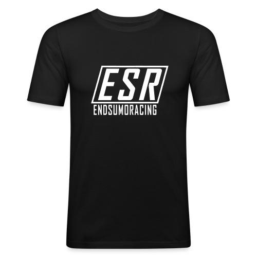 ESR Hoodie bordeaux - Männer Slim Fit T-Shirt