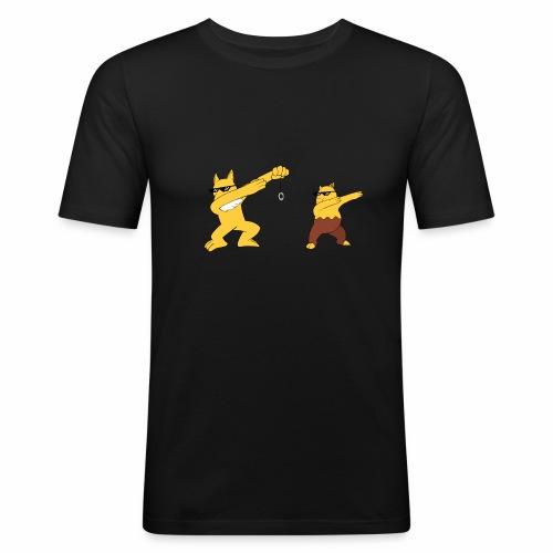 Saffron city gym - Men's Slim Fit T-Shirt