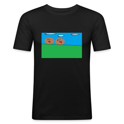 KOPP POTET!! - Slim Fit T-skjorte for menn