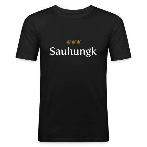 Sauhungk (Köln/Kölsch/Karneval) - Männer Slim Fit T-Shirt