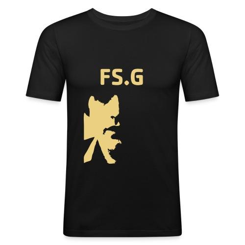 frankfaceinv - Männer Slim Fit T-Shirt