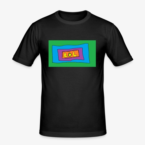 LOL is a word that i say all day - Slim Fit T-shirt herr