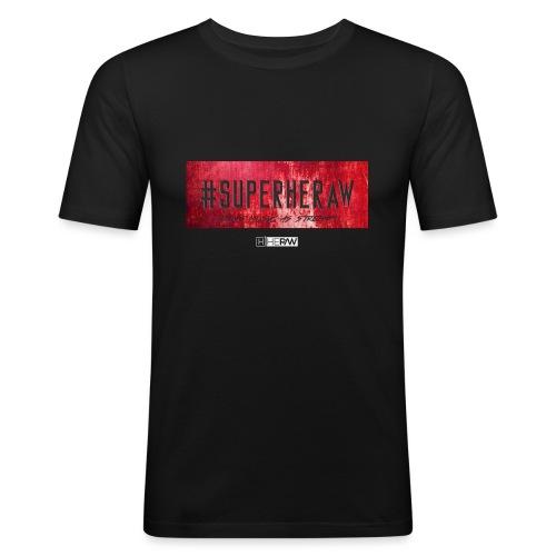 #SUPERHERAW - T-shirt près du corps Homme