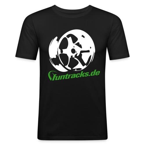 felge-test - Männer Slim Fit T-Shirt