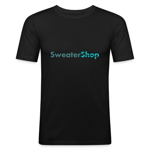 SweaterShop Promo T-Shirt - Mannen slim fit T-shirt