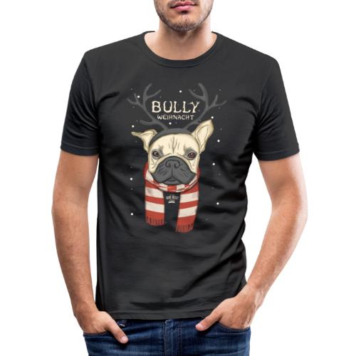 Bully Weihnacht - Männer Slim Fit T-Shirt