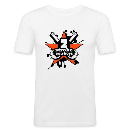 2_sc_logo_bunt_2_END - Männer Slim Fit T-Shirt