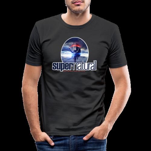 supernatural - Männer Slim Fit T-Shirt