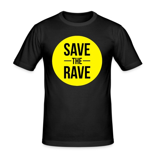 Save-The-Rave - Men's Slim Fit T-Shirt