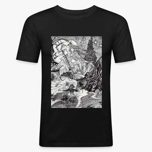 Pandora'sTwilight by Rivinoya - Miesten tyköistuva t-paita