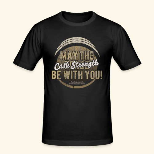 Whisky Design May The Cask Strength Be With You! - Männer Slim Fit T-Shirt