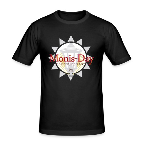 Monis-Day - Männer Slim Fit T-Shirt