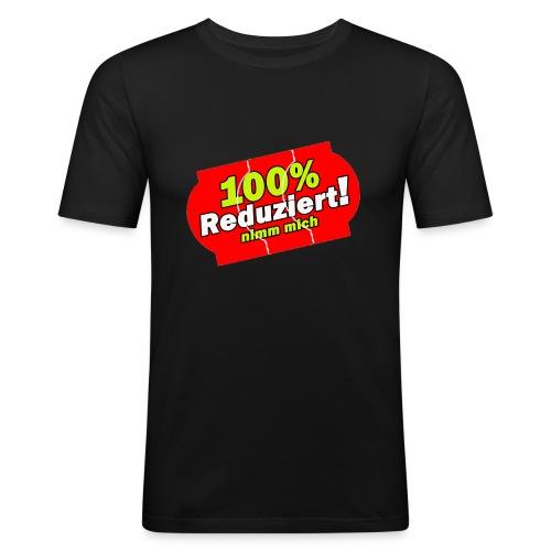 100% Reduziert!! - Männer Slim Fit T-Shirt