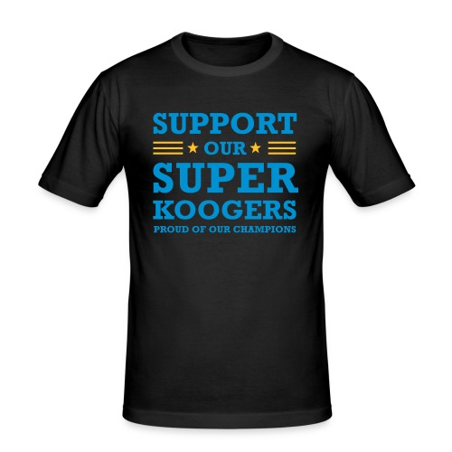 support our superkoogers - slim fit T-shirt