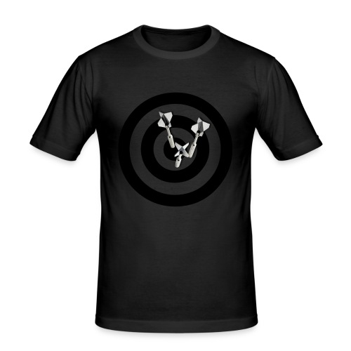 BULLS EYE DART - Herre Slim Fit T-Shirt