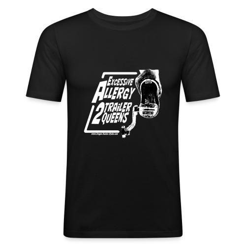 Excessive Allergy 2 Trailer Queens White - T-shirt près du corps Homme