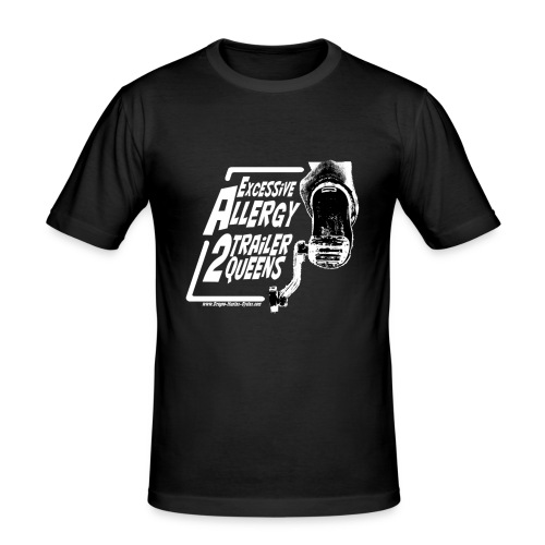 Excessive Allergy 2 Trailer Queens White - T-shirt près du corps Homme