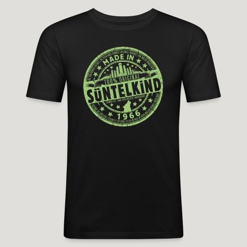 SÜNTELKIND 1966 - Das Süntel Shirt mit Süntelturm - Männer Slim Fit T-Shirt
