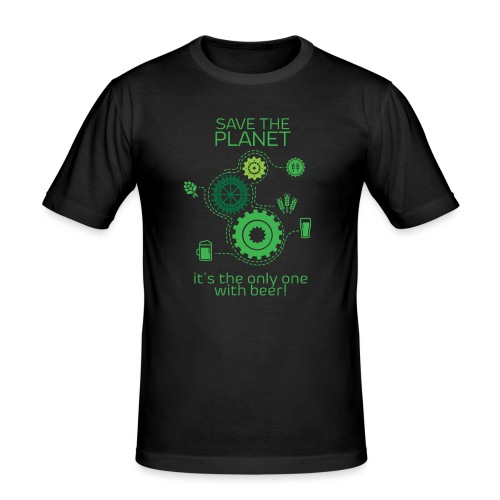 Save the planet - Men's Slim Fit T-Shirt