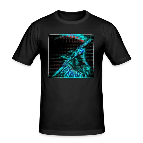 a - Männer Slim Fit T-Shirt