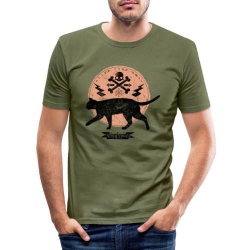 Catwalk - Männer Slim Fit T-Shirt