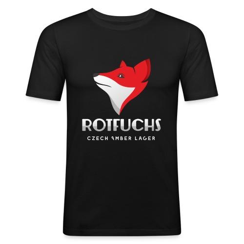 HBH RotFuchs1 - Männer Slim Fit T-Shirt