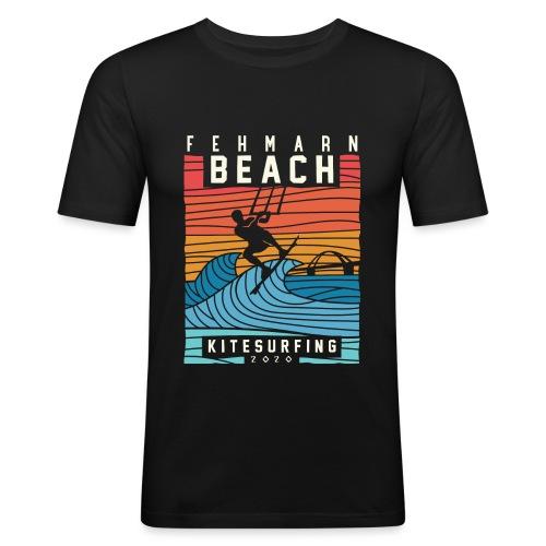 Fehmarn - Kitesurfen - Männer Slim Fit T-Shirt