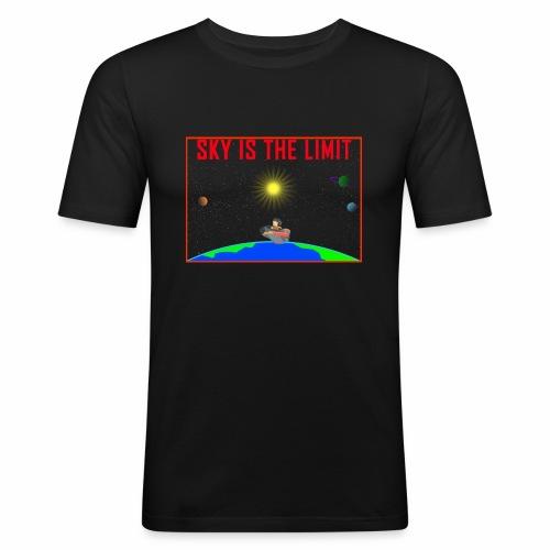 Sky is the limit - Men's Slim Fit T-Shirt
