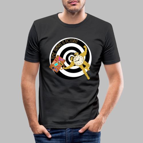 Time Travel - Men's Slim Fit T-Shirt
